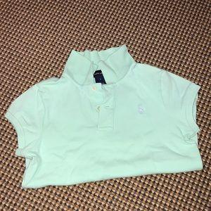 Ralph Lauren girls short sleeve polo